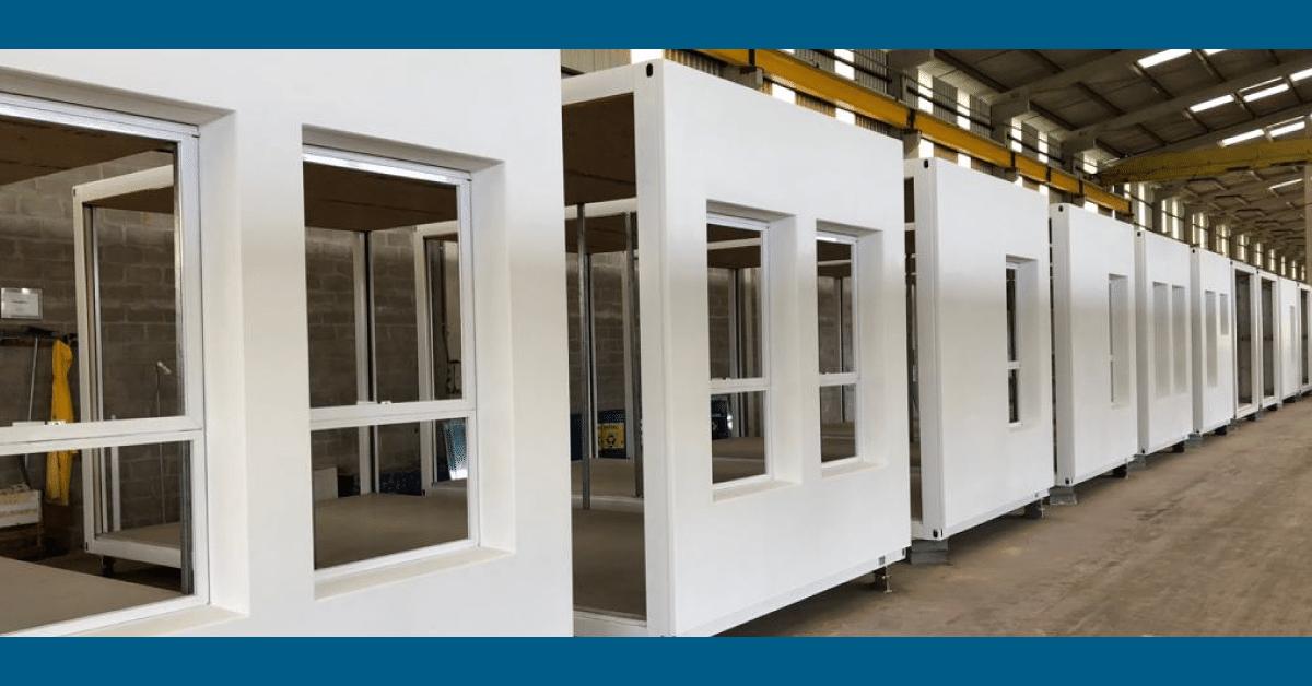 Construcao modular seguranca